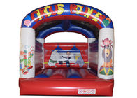 Classic Inflatable Circus Bouncer / Digital Printing Inflatable European Bouncer House