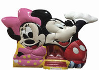 Classic disney cartoon mickey inflatable jump house fun PVC inflatable mickey castle bouncy commercial inflatable bounce