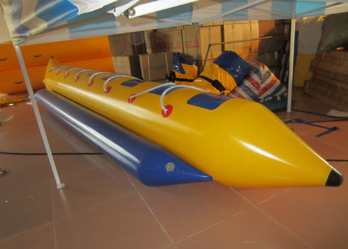 Water Games Inflatable Banana Boat , lake & Seashore