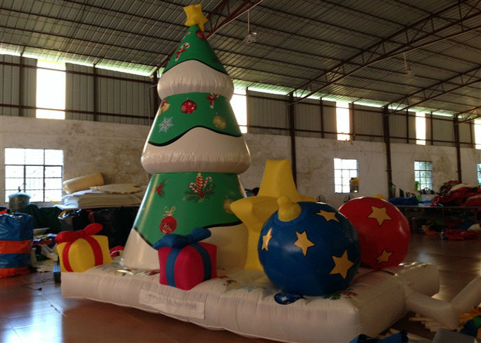 xmas inflatable christmas decorations trees christmas yard blow ups 4 x 28 x 45m