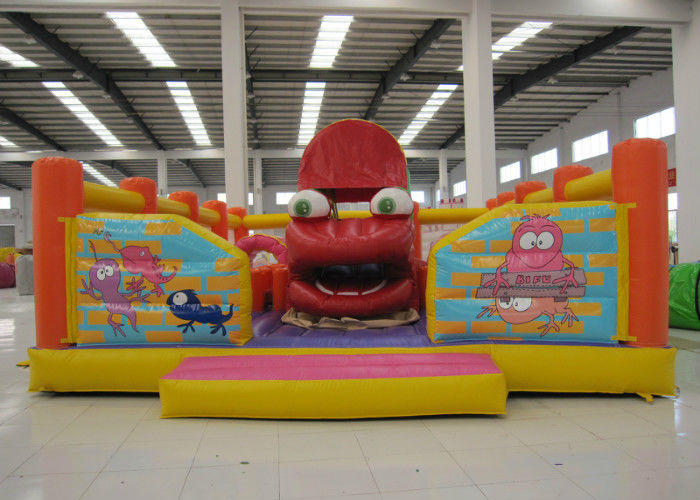 Big Mouth Monster Design Party City Bounce House Funny Inflatable