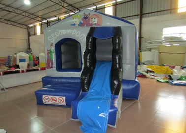 China European bouncy inflatable mini bouncer castle PVC inflatable jumping house with slide inflatable mini jump for kids distributor
