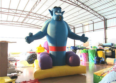 China Indoor Inflatable Christmas Decorations 3.5 X 2.5 X 4m Blow Up Xmas Decorations factory