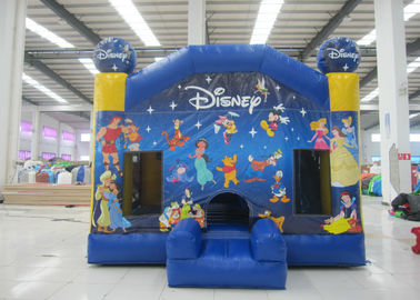 China Hot sale inflatable disney bouncy castle house commercial inflatable jumping house for kids under 15 years old distributor
