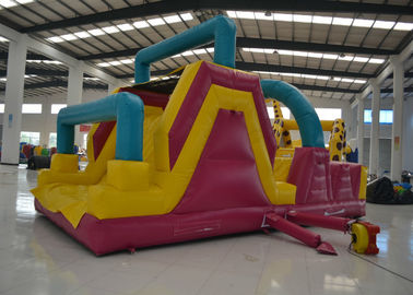 China Big Commercial Inflatable Obstacle Courses Outdoor Game 8 X 4 X 4m Safe Nontoxic distributor