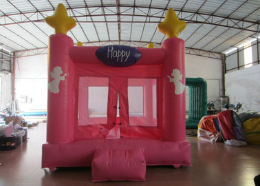 China Colourful Custom Inflatable Big Bouncy Castle Kids Indoor Inflatable Bouncer Fire Resistance PVC distributor
