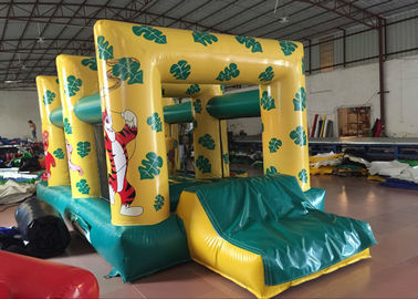 China Forest Combo Inflatable Jump House Commercial Grade Indoor Playground 6 X 3.6m distributor