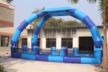 China Giant Airtight Arch Tent / Inflatable Pool Tent For Outdoor Water Games distributor
