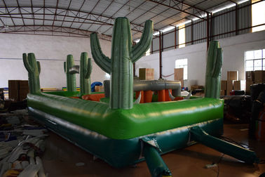 China Small Wild West Inflatable Sport Games / Inflatable Obstacle Course For Kids Under 5 Years factory