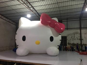 China Parties And Events Inflatable Advertising Signs / Hello Kitty Blow Up Cartoon factory