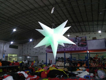 China Inflatable Star With LED Light , Oxford Material Inflatable Advertising Products distributor