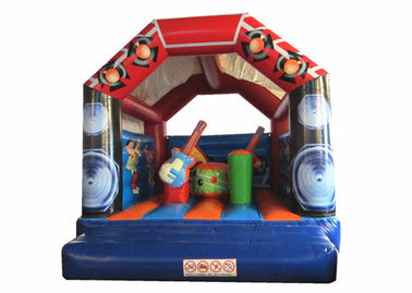 Music themed inflatale jumping house normal use inflatable bouncer PVC inflatable wide bouncer