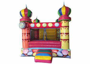 China Small inflatable bouncer with net around / inflatable ball pool bouncer colourful inflatable mini balloon jumping house distributor