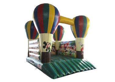 China 4 x 5m Kids Inflatable Bounce House / Blow Up Balloon Jump Ramp Platform Mickey Mouse Jump House distributor
