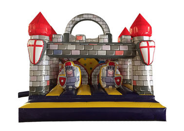 Durable Inflatable Castle Obstacle , Popular Inflatable Guard Castle Obstacle Course