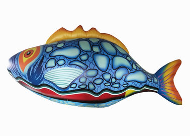 China Big Inflatable Flying Fish / Giant Inflatable Fish Pvc Inflatable Flying Fish distributor