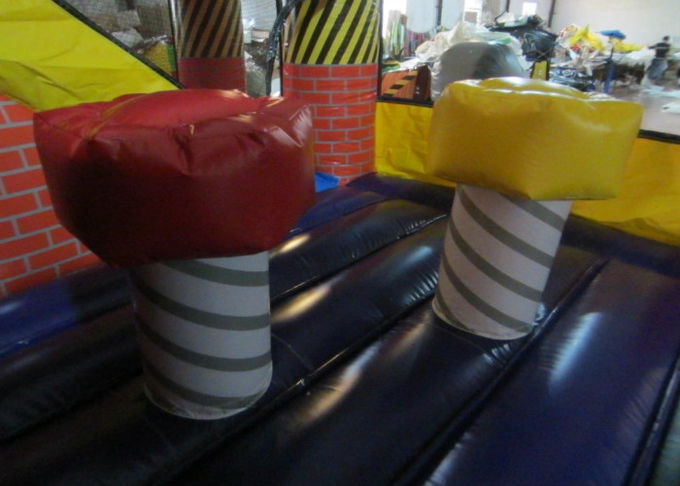 Builder theme inflatable combo & commercial bouncer combos from Xincheng company