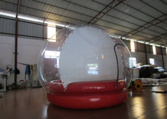 Outdoor Inflatable Christmas Decorations Crystal Ball Airtight Dia3m Pvc Tarpaulin
