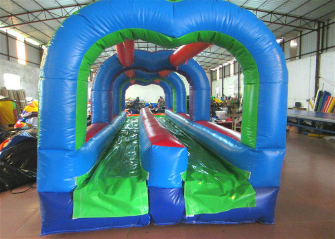 Commercial inflatable arch water slide classic inflatable bridge shape water slide