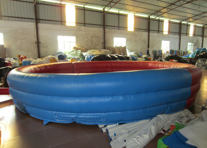 Amusement Park Inflatable Sports Games Round Blow Up Sports Arena Dia.6m Customized