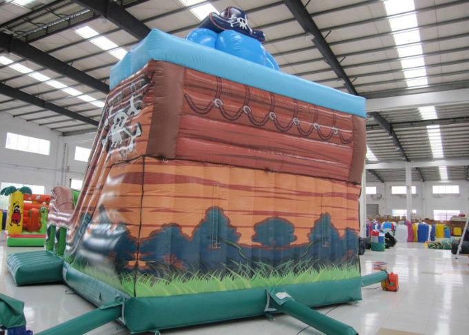 Elephant Inflatable Pirate Ship Bouncer Animals Pirate Boat Silk Printing hot sale inflatable animals pirate boat