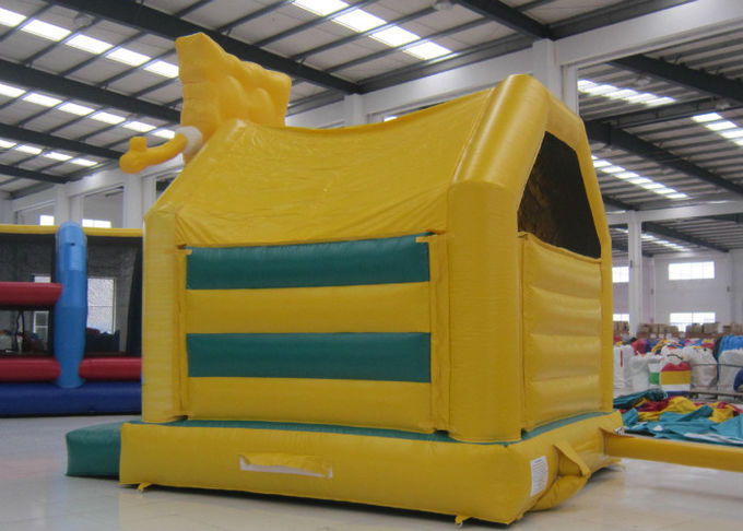 Lovely inflatable spongebob bouncer castle cute hot sale inflatable spongebob jump house with slide