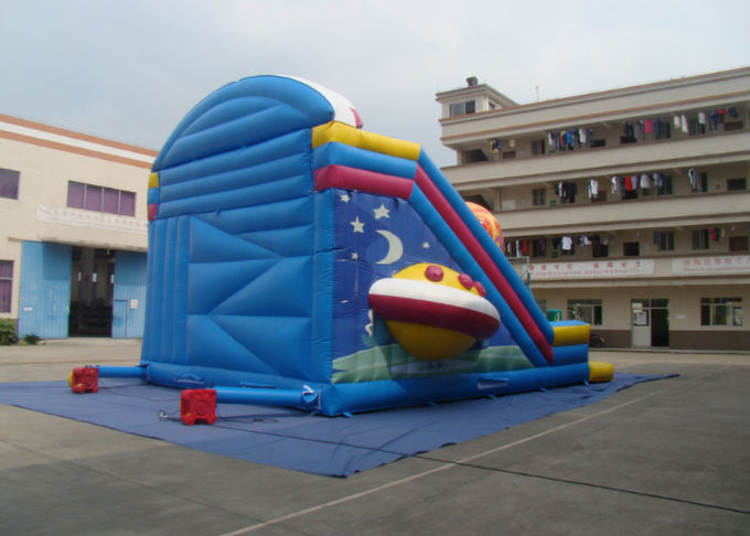 Alien Style Water Park Commercial Inflatable Water Slides For Kindergarten Baby
