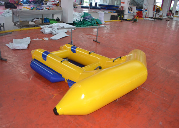 Digital Printing Inflatable Water Games Boat 2 97 X 2 7m