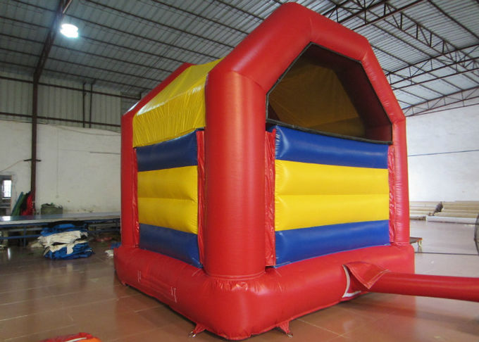Indoor Inflatable Bounce House , Big Party Bounce House With Slide 3.5 X 3.5m